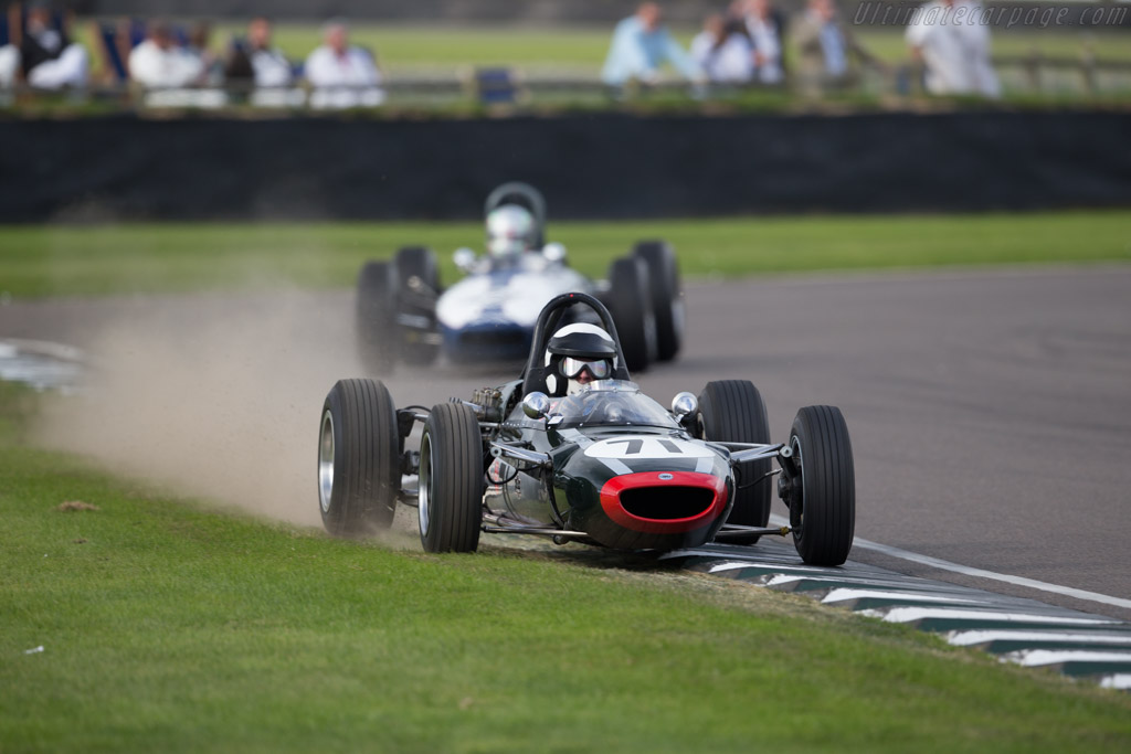 Cooper T71/73 Ford - Chassis: F1-3-64 - Driver: Alain Baillie  - 2015 Goodwood Revival