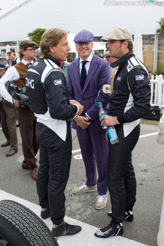 David Hart and Giedo van de Garde    - 2015 Goodwood Revival