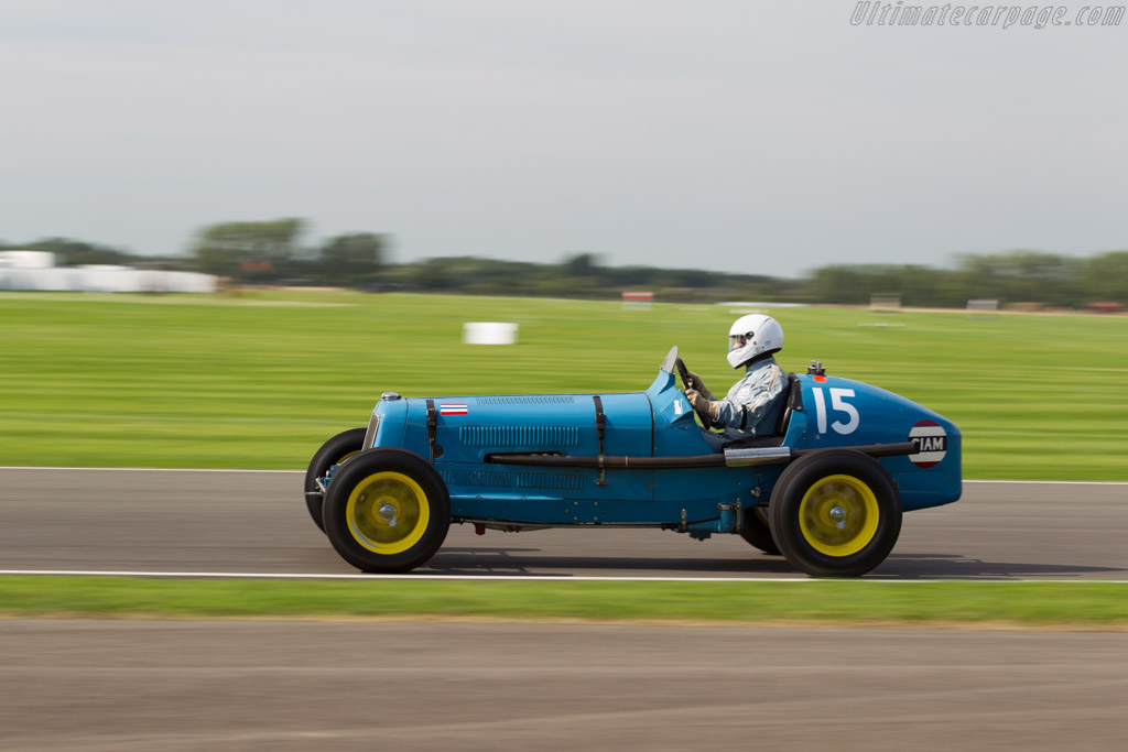 ERA B-Type 'Remus' - Chassis: R5B - Driver: Charles McCabe  - 2015 Goodwood Revival