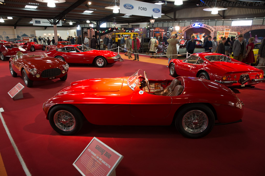 Ferrari 166 MM Touring Barchetta - Chassis: 0040M - Entrant: Sally & Dudley Mason-Styrron  - 2015 Goodwood Revival
