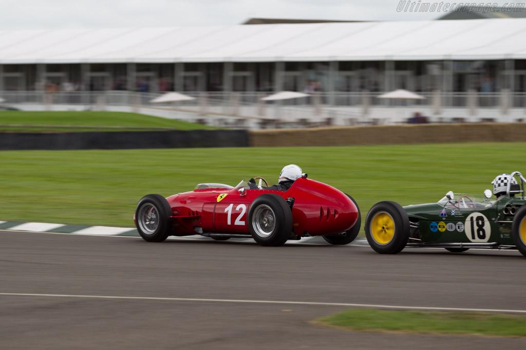Ferrari 246 Dino F1  - Driver: Steve Tillack  - 2015 Goodwood Revival
