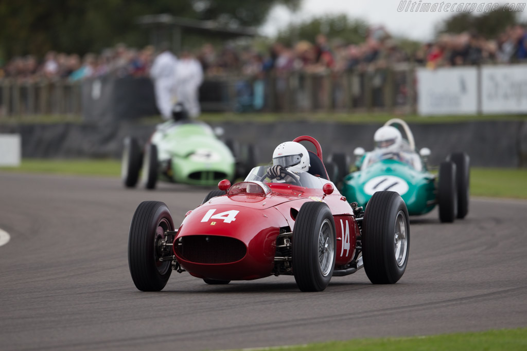 Ferrari 246 Dino F1 - Chassis: 0007 - Driver: Tony Smith  - 2015 Goodwood Revival