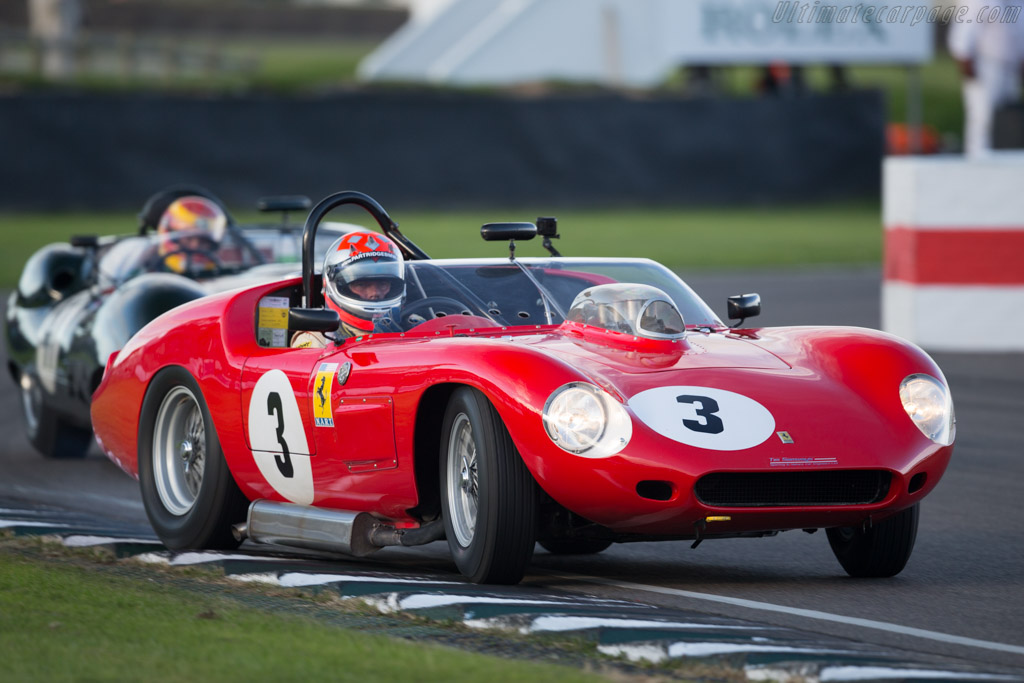Ferrari 246 Dino S - Chassis: 0784 - Entrant: Sporting & Historic Cars - Driver: Bobby Verdon-Roe  - 2015 Goodwood Revival