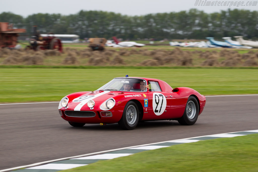 Ferrari 250 LM - Chassis: 6119 - Driver: Tom Kristensen  - 2015 Goodwood Revival