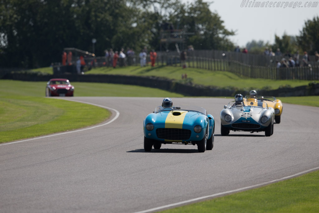 Ferrari 375 MM - Chassis: 0374AM - Entrant: Tom Shaugnessy - Driver: Mark Donaldson  - 2015 Goodwood Revival