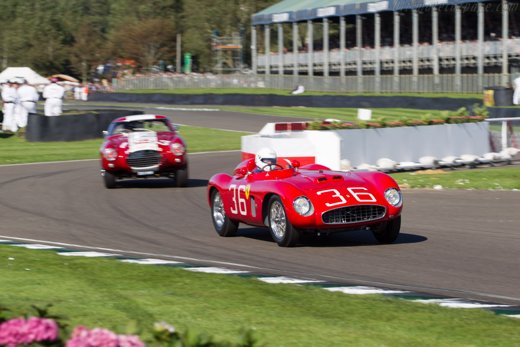 Ferrari 500 TR - Chassis: 0614MDTR - Entrant: Bruce Lavacher - Driver: David Cottingham  - 2015 Goodwood Revival