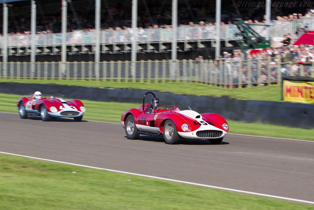 Ferrari 500 TRC - Chassis: 0686MDTR - Entrant: Christian Hore - Driver: Joe Macari  - 2015 Goodwood Revival