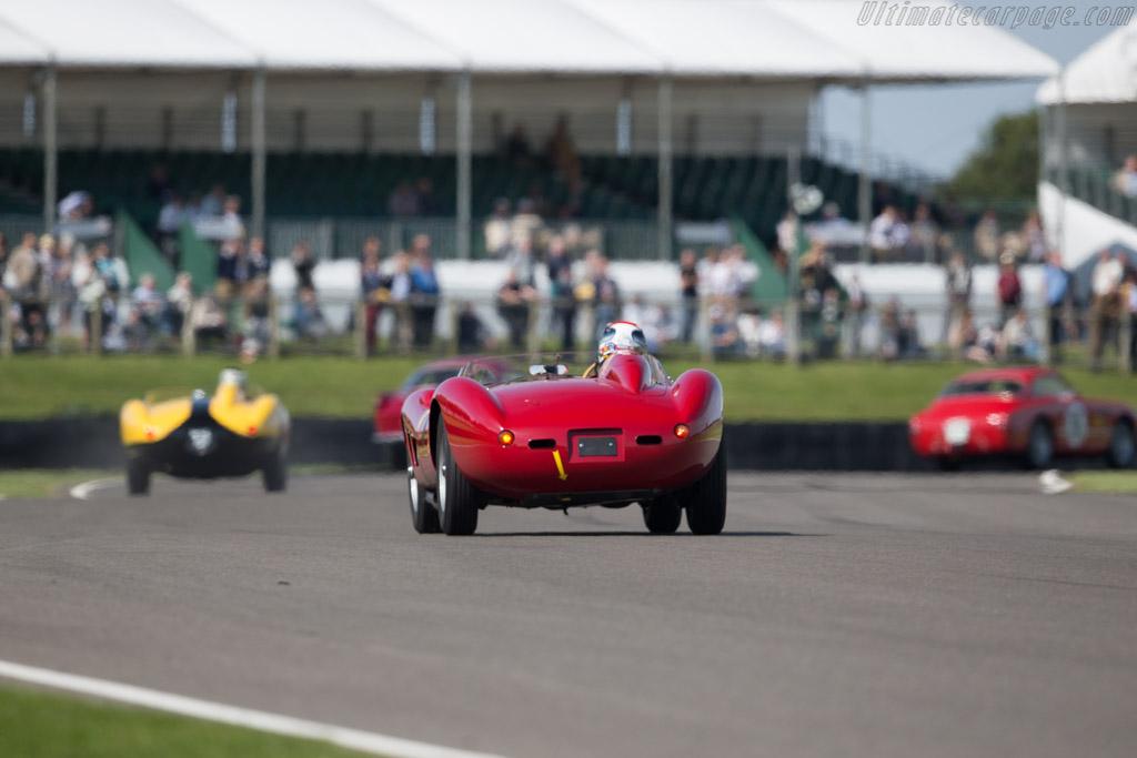 Ferrari 500 TRC - Chassis: 0660MDTR - Entrant: Ernst Schuster - Driver: Emanuele Pirro  - 2015 Goodwood Revival