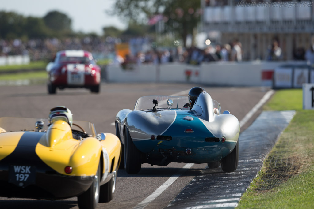 Ferrari 750 Monza - Chassis: 0568M - Driver: Carlos Monteverde  - 2015 Goodwood Revival