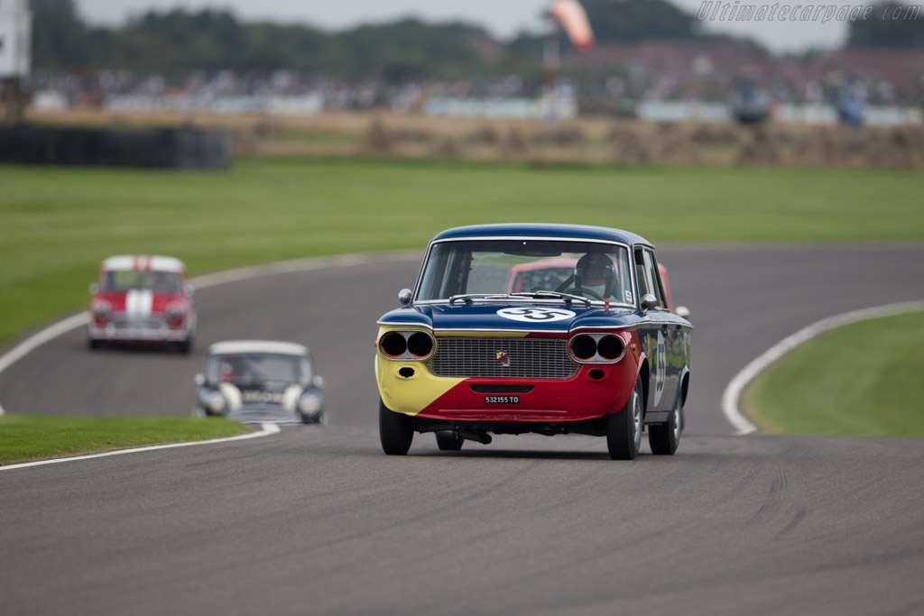 Fiat Abarth 1500S  - Entrant: Hilton Persaud - Driver: Graham Robson  - 2015 Goodwood Revival