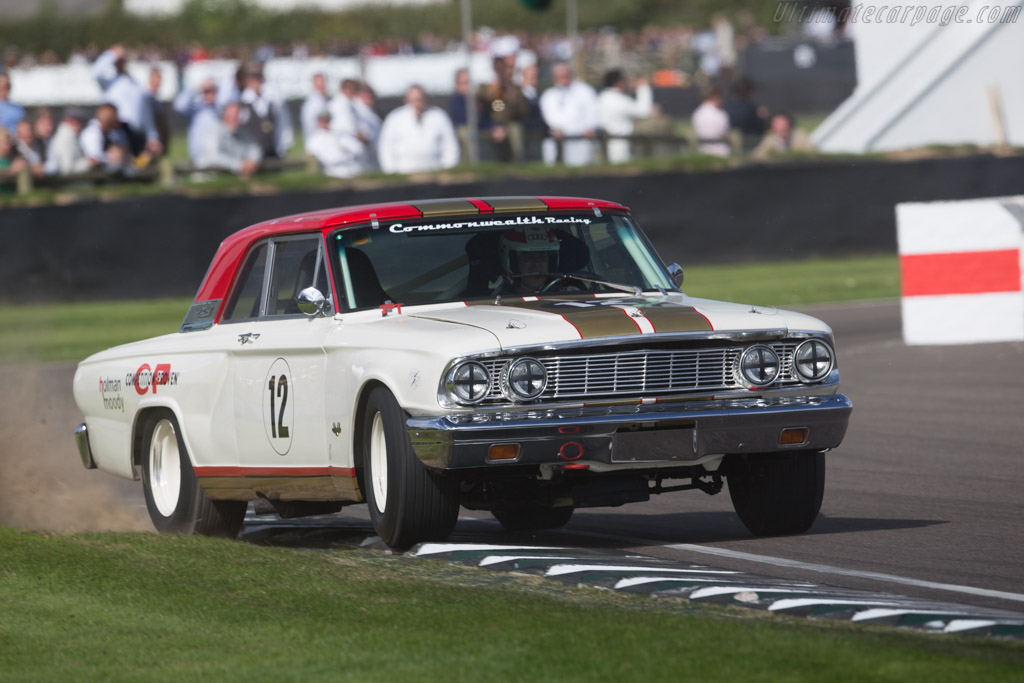 Ford Fairlane Thunderbolt  - Entrant: Harry Mann - Driver: Tom Kristensen  - 2015 Goodwood Revival