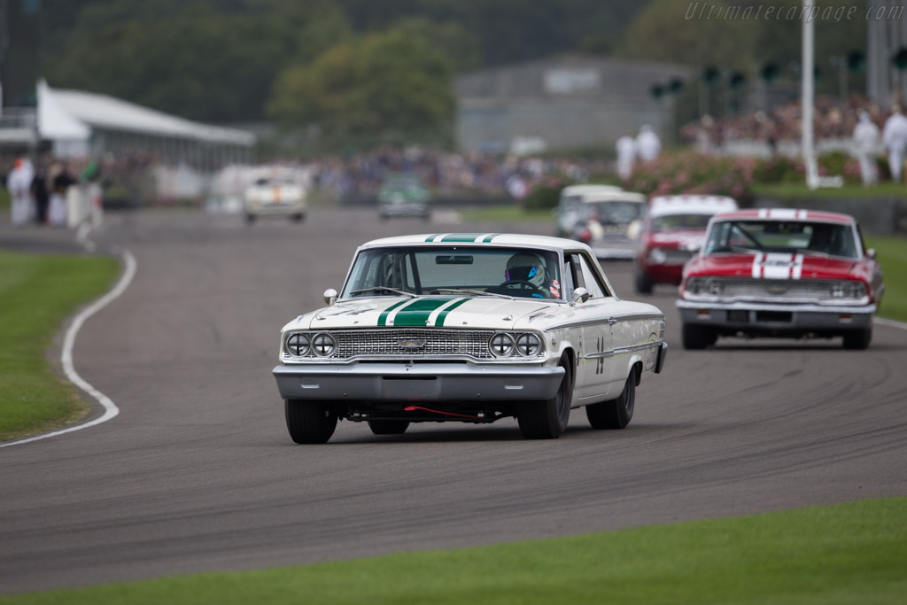 Ford Galaxie 500  - Driver: Ian Dalglish  - 2015 Goodwood Revival