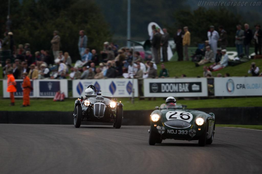 Frazer Nash Le Mans Replica - Chassis: 421-100-159 - Entrant: Ian Dalglish - Driver: Ian Dalglish / Joe Twyman  - 2015 Goodwood Revival