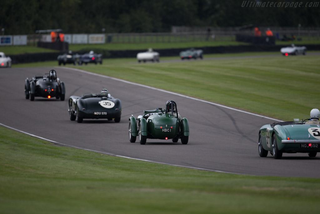 Frazer Nash Le Mans Replica - Chassis: 421-100-119 - Entrant: Tim Summers - Driver: Tim Stummers / Richard Meaden  - 2015 Goodwood Revival