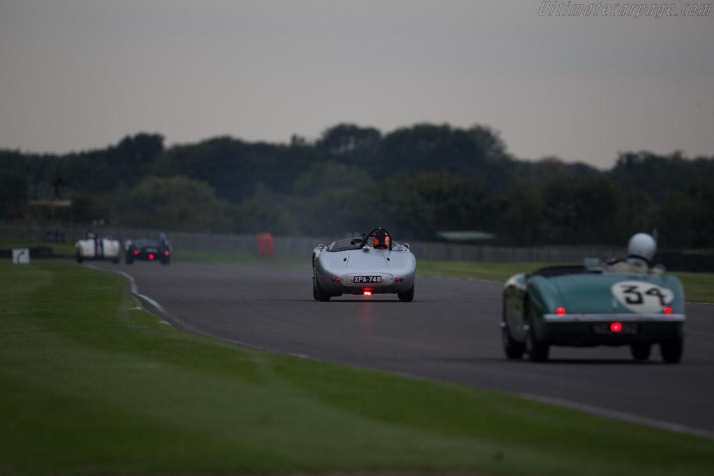 HWM Jaguar  - Entrant: Lavant & Boxgrove Motor Club - Driver: Michael Milligan / Jarrah Venables  - 2015 Goodwood Revival