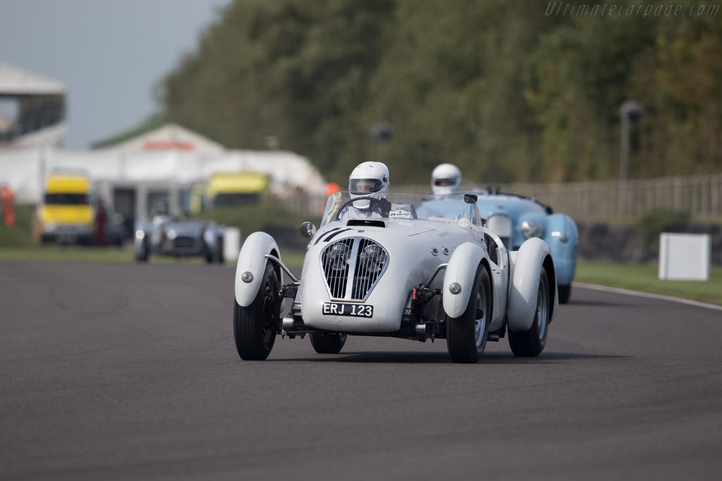 Healey Silverstone - Chassis: S80 - Driver: Neil Collins  - 2015 Goodwood Revival