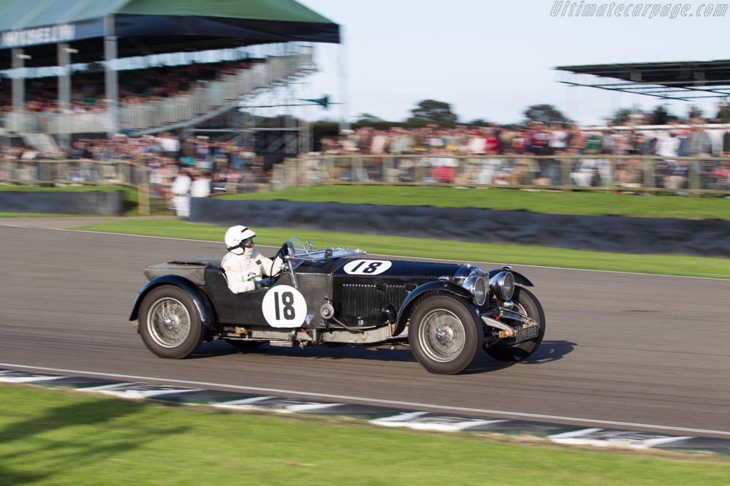 Invicta S-Type  - Entrant: Rupert Wood - Driver: Bob Wood  - 2015 Goodwood Revival