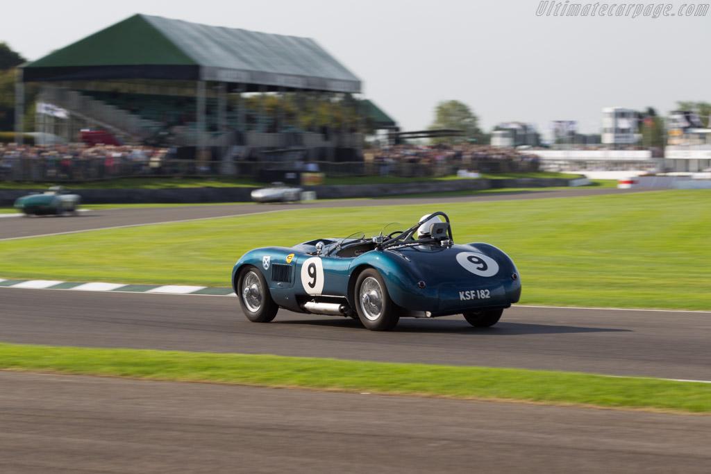 Jaguar C-Type - Chassis: XKC 042 - Entrant: Adam Lindemann - Driver: Adam Lindemann / Derek Bell  - 2015 Goodwood Revival