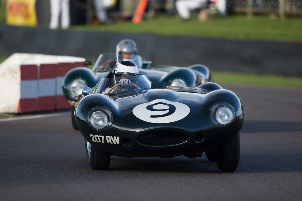 Jaguar D-Type Long Nose Replica  - Driver: Ben Eastick  - 2015 Goodwood Revival