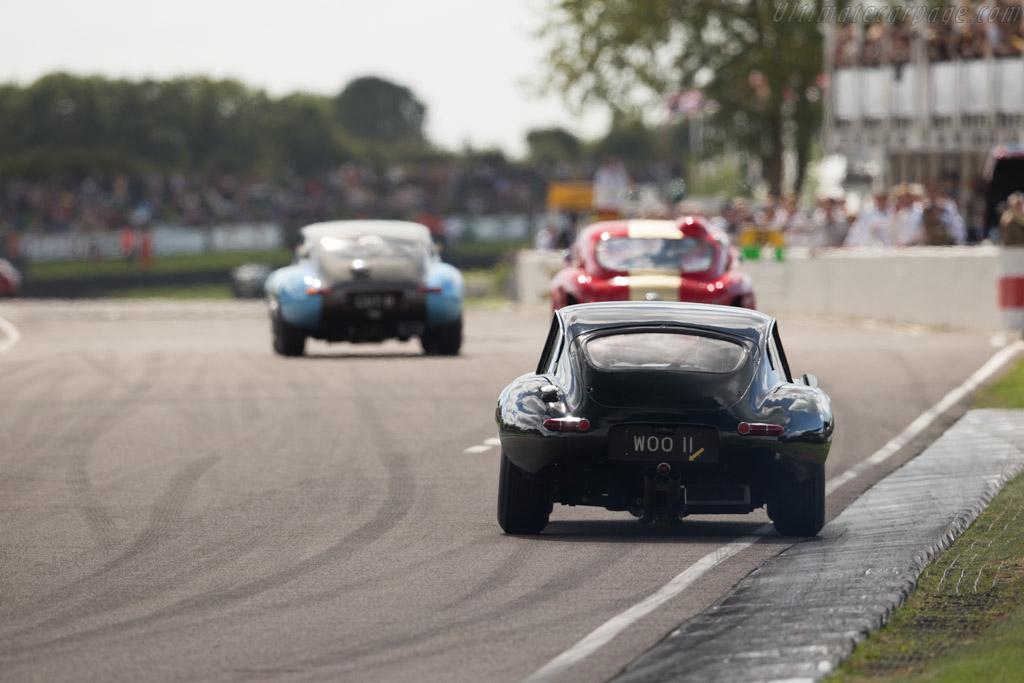Jaguar E-Type - Chassis: 860675 - Entrant: Marc Devis - Driver: Marc Devis / Richard Attwood  - 2015 Goodwood Revival