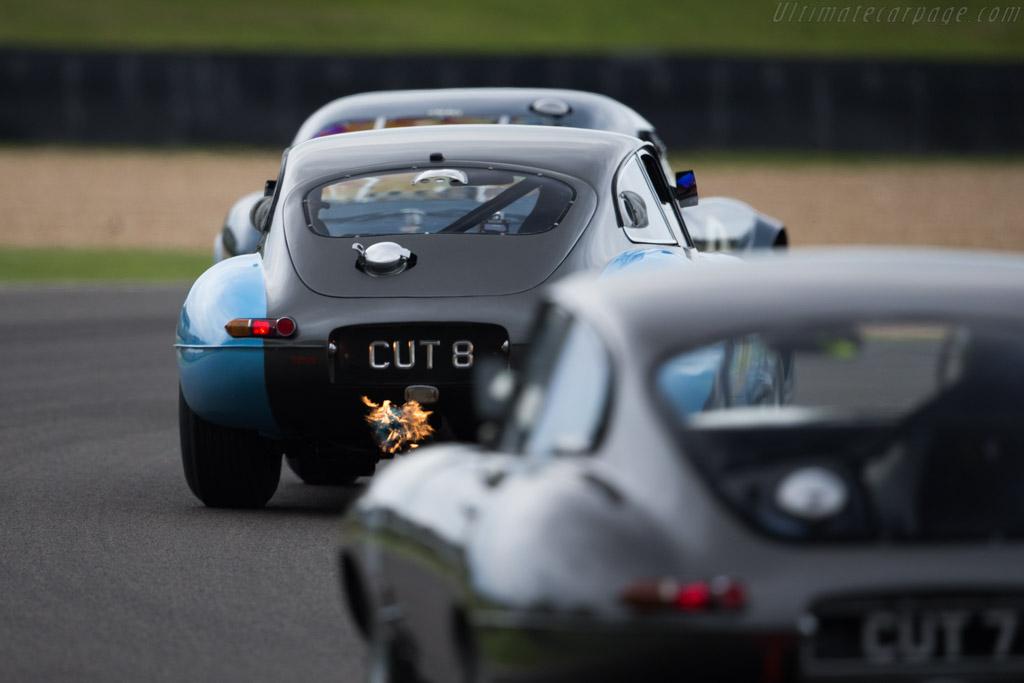 Jaguar E-Type - Chassis: 860953 - Entrant: Gregor Fisken - Driver: Gregor Fisken / Martin Stretton  - 2015 Goodwood Revival