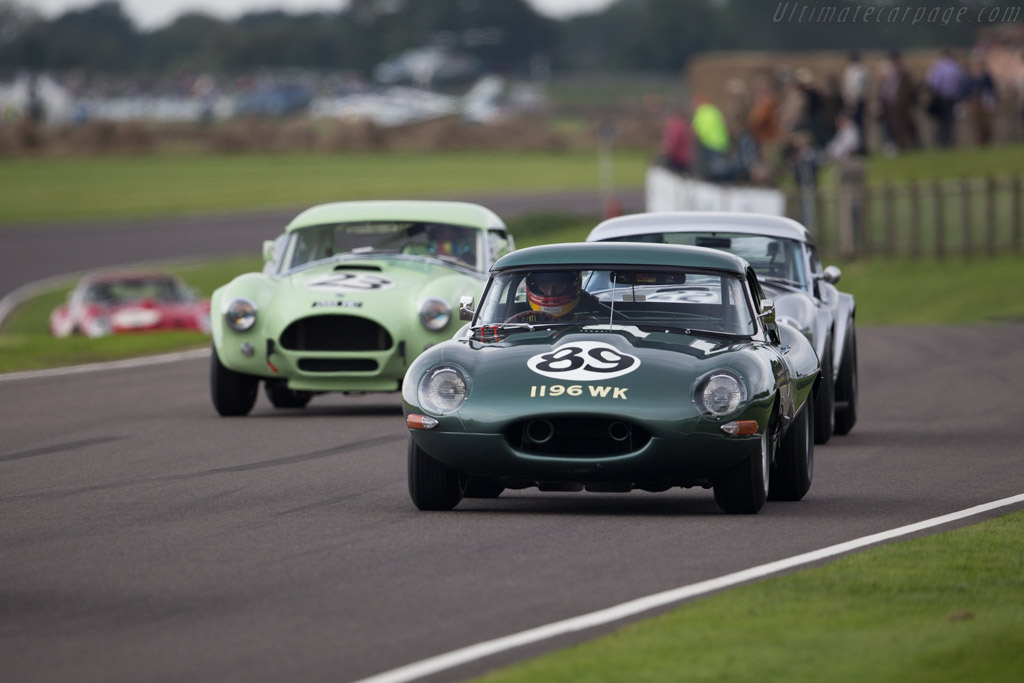 Jaguar E-Type - Chassis: 850486 - Entrant: Derek Hood - Driver: Gordon Shedden / Chris Ward - 2015 Goodwood Revival