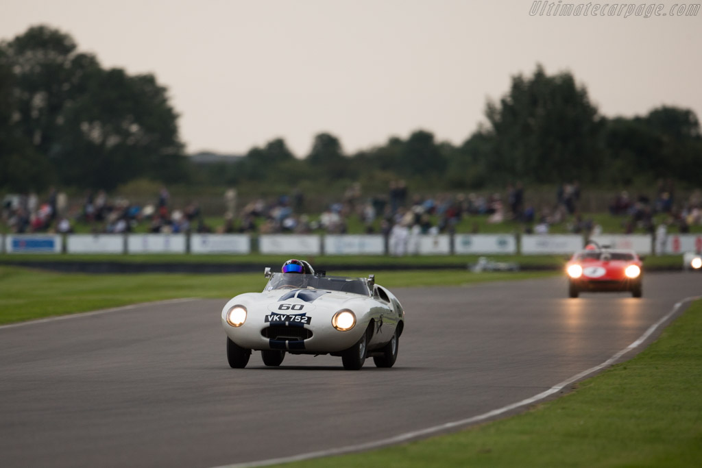 Jaguar E2A - Chassis: E2A - Entrant: Stefan Ziegler - Driver: Gregor Fisken  - 2015 Goodwood Revival