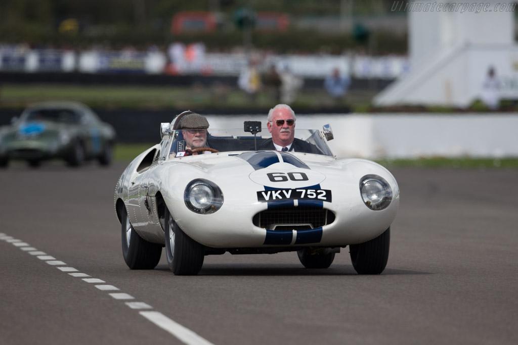 Jaguar E2A - Chassis: E2A - Entrant: Stefan Ziegler  - 2015 Goodwood Revival