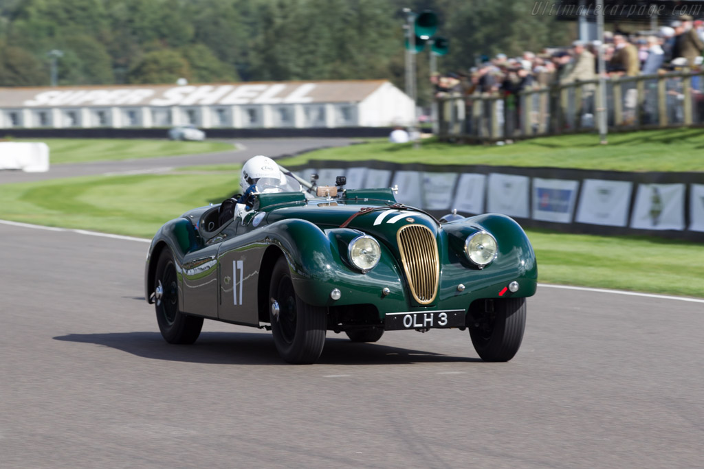 Jaguar XK120 - Chassis: 660280 - Entrant: Coombs of Guildford ltd - Driver: Nick Finburgh  - 2015 Goodwood Revival
