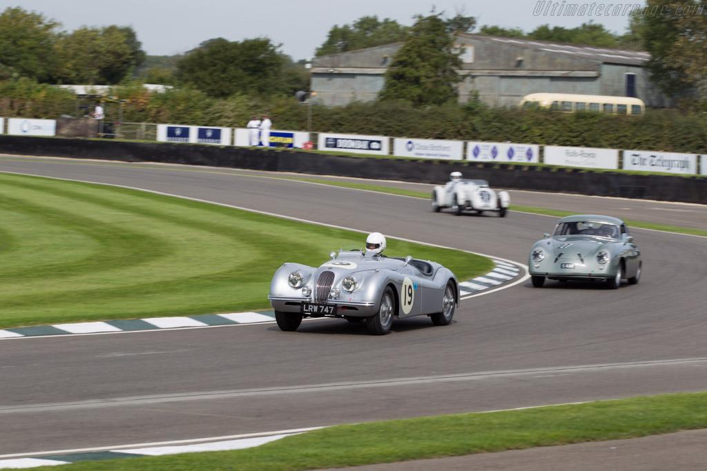 Jaguar XK120 - Chassis: 660870 - Entrant: Jaguar - Driver: Sam Smith  - 2015 Goodwood Revival
