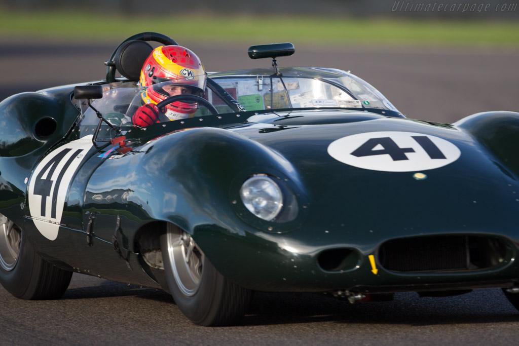 Lister Costin Jaguar - Chassis: BHL 133 - Entrant: Richard Goddard - Driver: Chris Ward  - 2015 Goodwood Revival