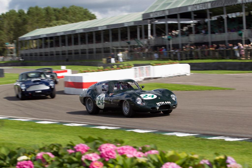 Lister Jaguar Coupe - Chassis: BHL 136 - Entrant: Frederic Wakeman - Driver: Frederic Wakeman / Tom Kristensen  - 2015 Goodwood Revival