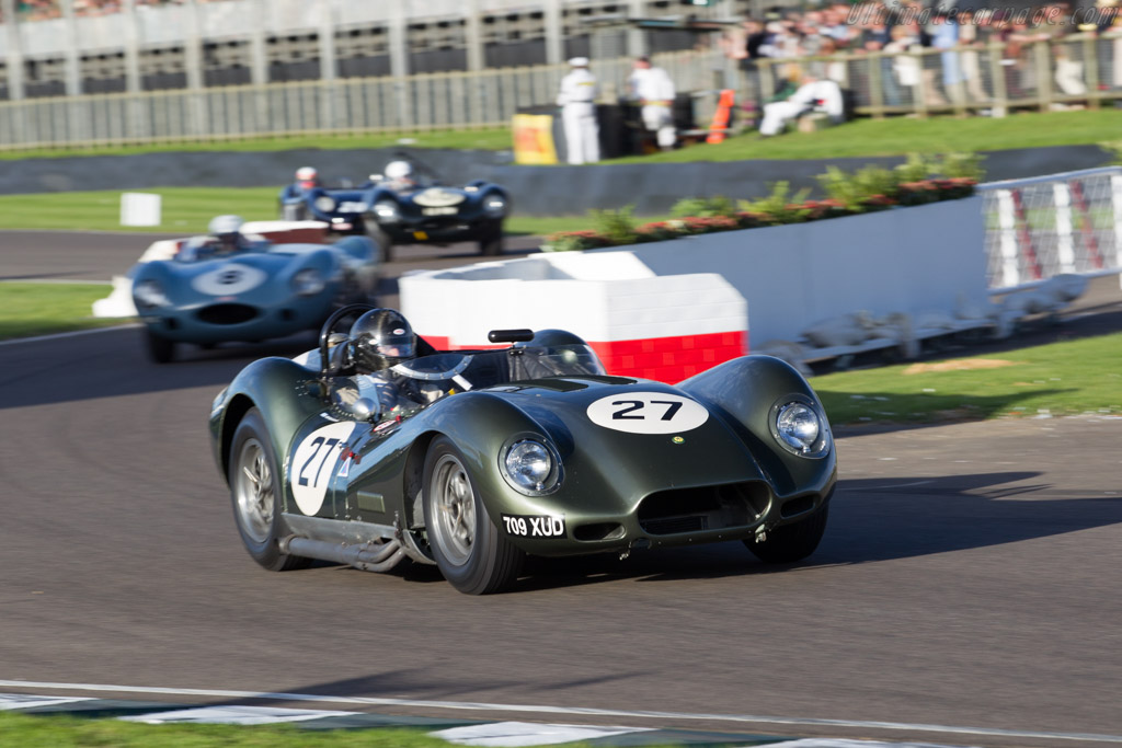 Lister Knobbly Chevrolet - Chassis: BHL 127 - Driver: Kriton Lendoudis  - 2015 Goodwood Revival
