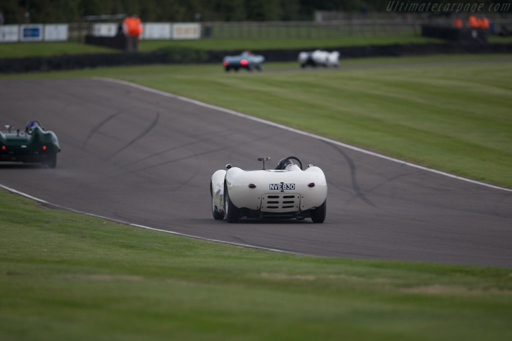 Lister Knobbly Chevrolet - Chassis: BHL 110 - Driver: Roberto Giordanelli  - 2015 Goodwood Revival