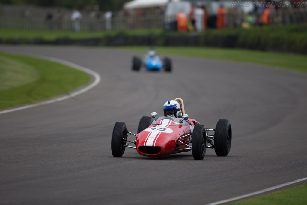 Lola T54 Ford - Chassis: F2-64 - Driver: Patrick Jamin  - 2015 Goodwood Revival