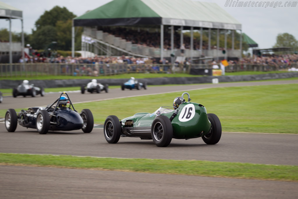 Lotus 16 Climax - Chassis: 363 - Driver: Roger Wills  - 2015 Goodwood Revival