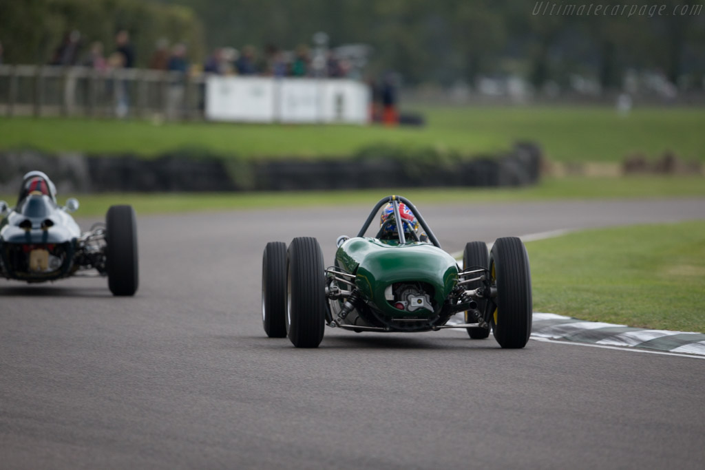 Lotus 21 Climax - Chassis: 933 - Entrant: Classic Team Lotus - Driver: Dan Collins  - 2015 Goodwood Revival