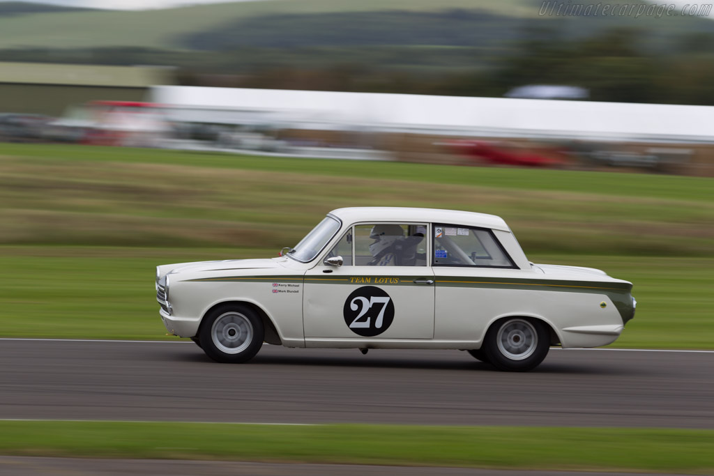 Lotus Cortina - Chassis: Z74D427072 - Driver: Michael Kerry  - 2015 Goodwood Revival