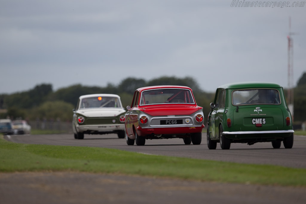 Lotus Cortina  - Entrant: Andrew Mike - Driver: Mike Jordan  - 2015 Goodwood Revival