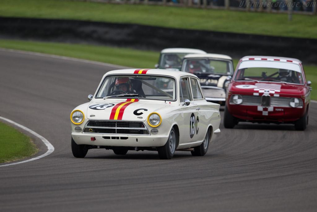Lotus Cortina  - Driver: Shaun Lynn  - 2015 Goodwood Revival