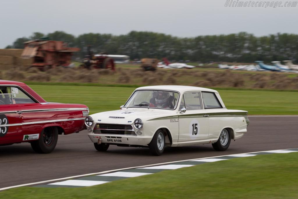 Lotus Cortina  - Driver: Matt Neal  - 2015 Goodwood Revival