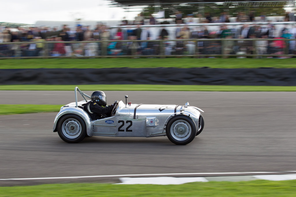 Lotus VI Ford - Chassis: 74 - Driver: Chris Rea - 2015 Goodwood Revival