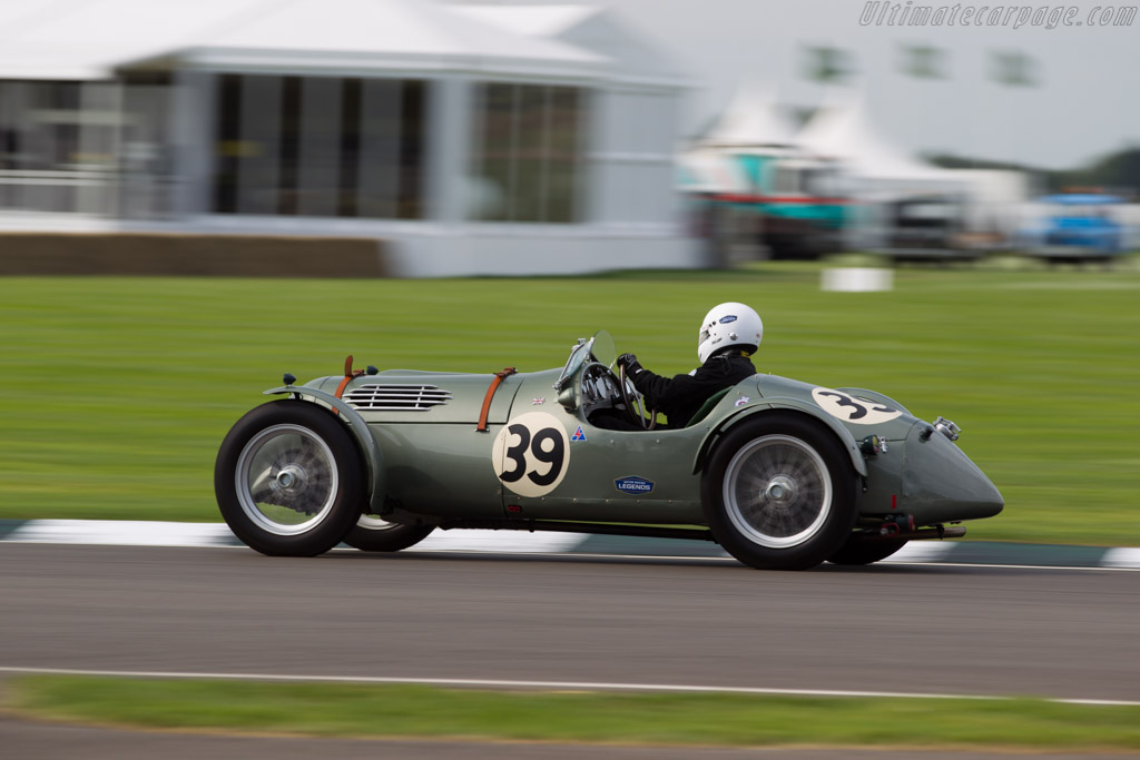 MG TC  - Entrant: Neil Hardy - Driver: Barry Sidery-Smith  - 2015 Goodwood Revival