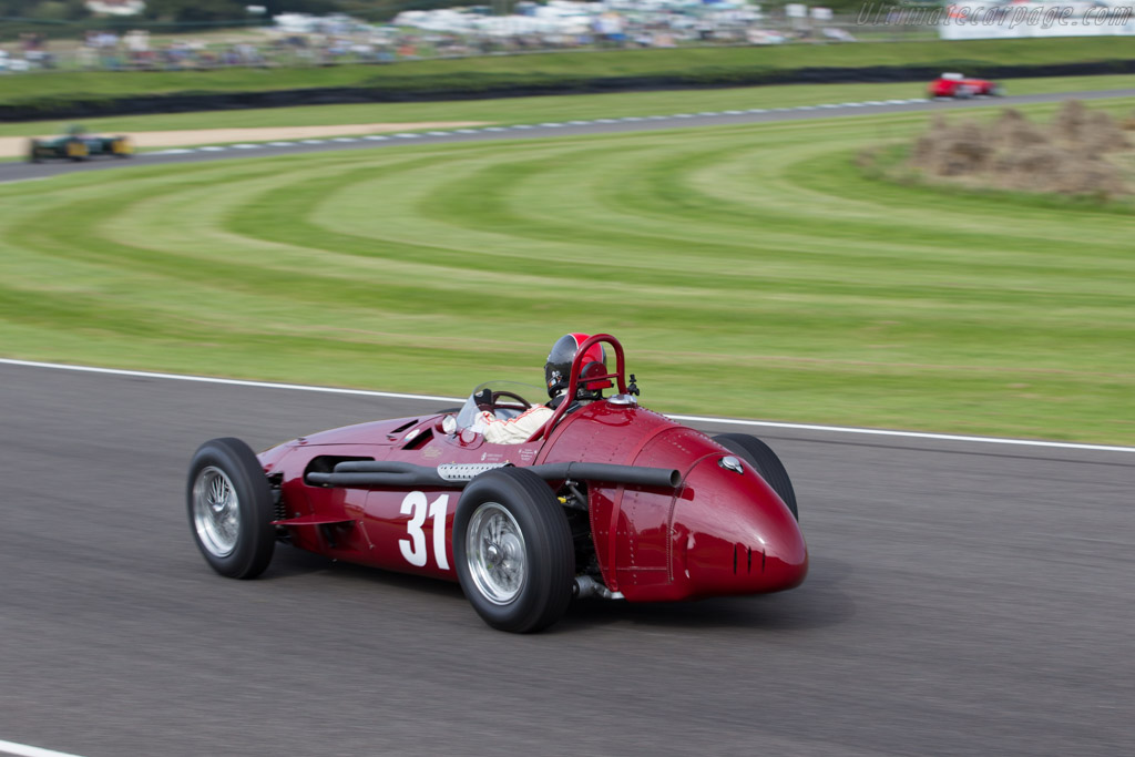 Maserati 250F - Chassis: 2523 - Driver: Guillermo Fierro  - 2015 Goodwood Revival