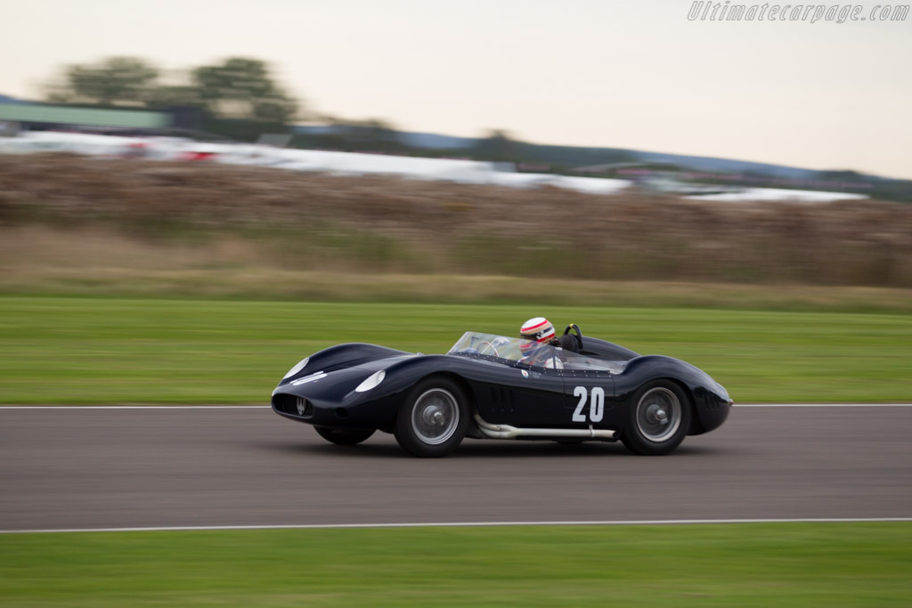Maserati 250S - Chassis: 2411 - Driver: Marc Devis  - 2015 Goodwood Revival