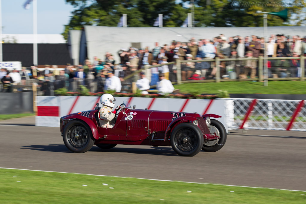 Maserati 8C 3000 - Chassis: 3001 - Driver: Josef Otto Rettenmaier  - 2015 Goodwood Revival