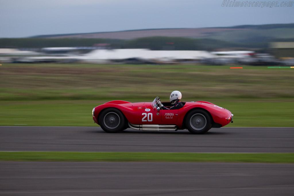 Maserati A6GCS/53 - Chassis: 2085 - Entrant: Manuel Elicabe - Driver: Manuel Elicabe / Hugo Lepphaille  - 2015 Goodwood Revival