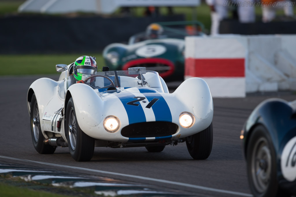Maserati Tipo 61 Birdcage - Chassis: 2457 - Entrant: Ten Tenths ltd. - Driver: Marino Franchitti  - 2015 Goodwood Revival