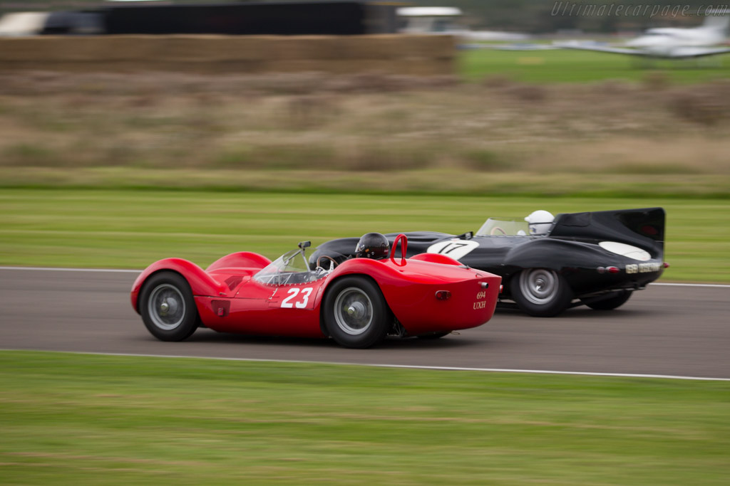 Maserati Tipo 61 Birdcage - Chassis: 2469 - Driver: Stephan Rettenmaier  - 2015 Goodwood Revival