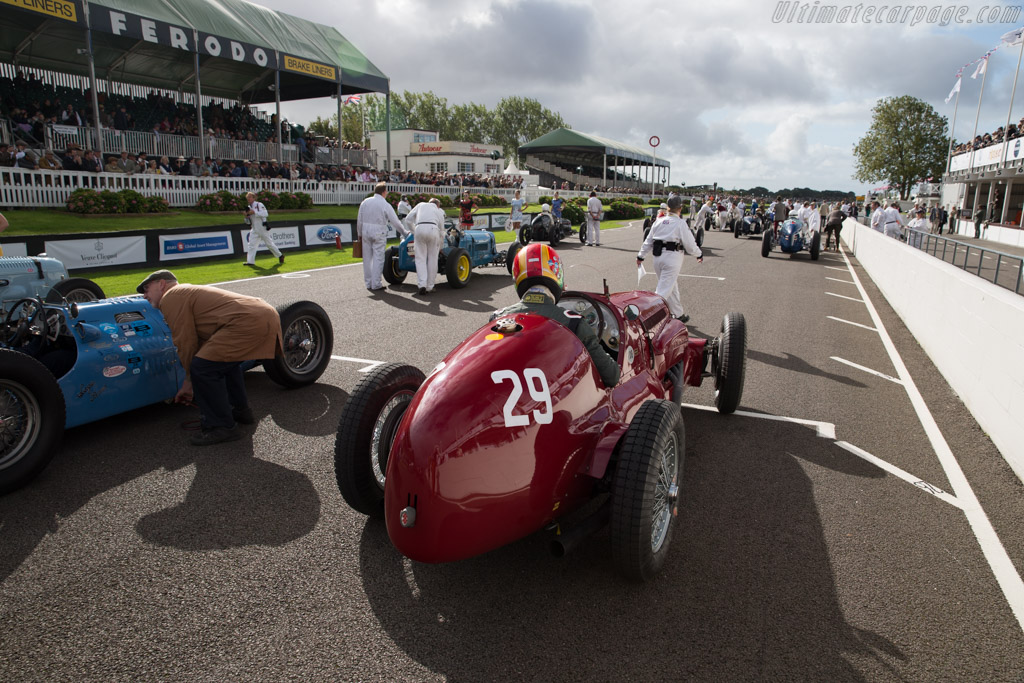 Maserati V8RI - Chassis: 4501 - Entrant: Michael Gans - Driver: Andrew Wolfe  - 2015 Goodwood Revival